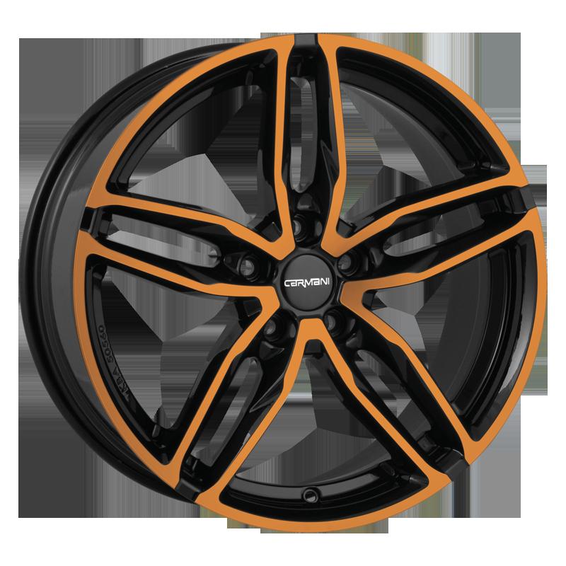 CARMANI 13 Twinmax hliníkové disky 9x20 5x112 ET35 orange polish