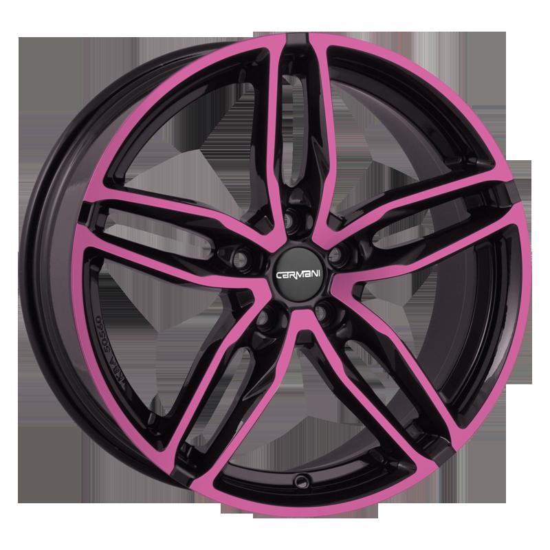 CARMANI 13 Twinmax hliníkové disky 9x20 5x112 ET25 pink polish