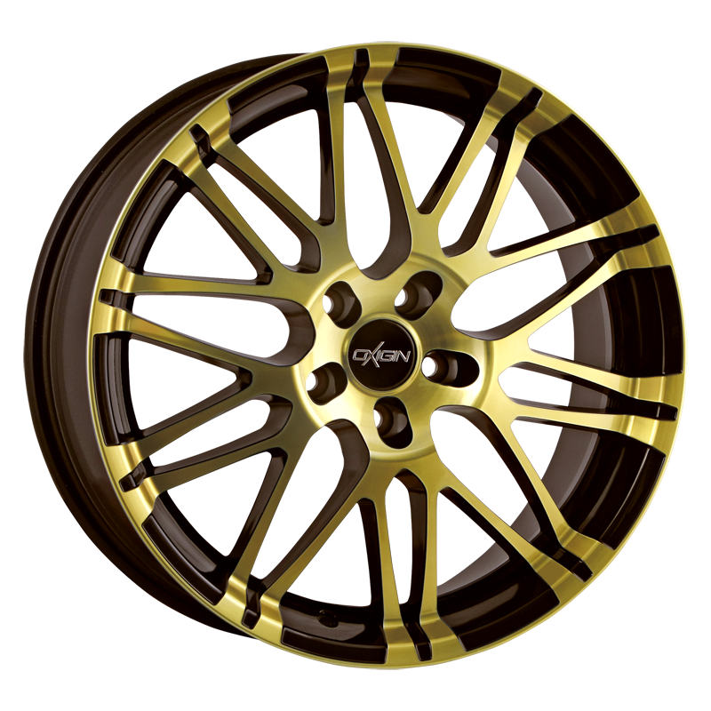 OXIGIN 14 Oxrock hliníkové disky 7,5x17 5x112 ET35 brown gold polish