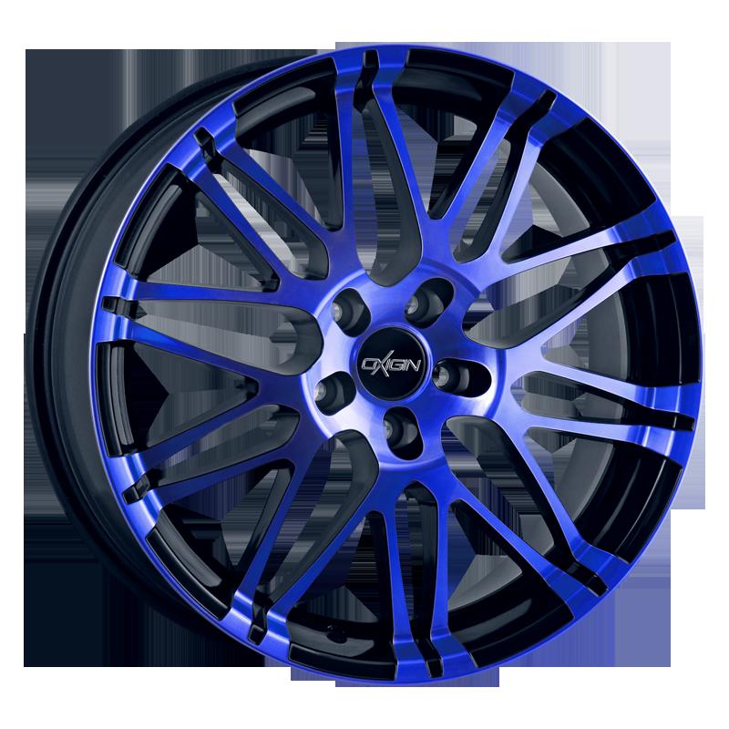 OXIGIN 14 Oxrock hliníkové disky 7,5x17 5x112 ET35 blue polish