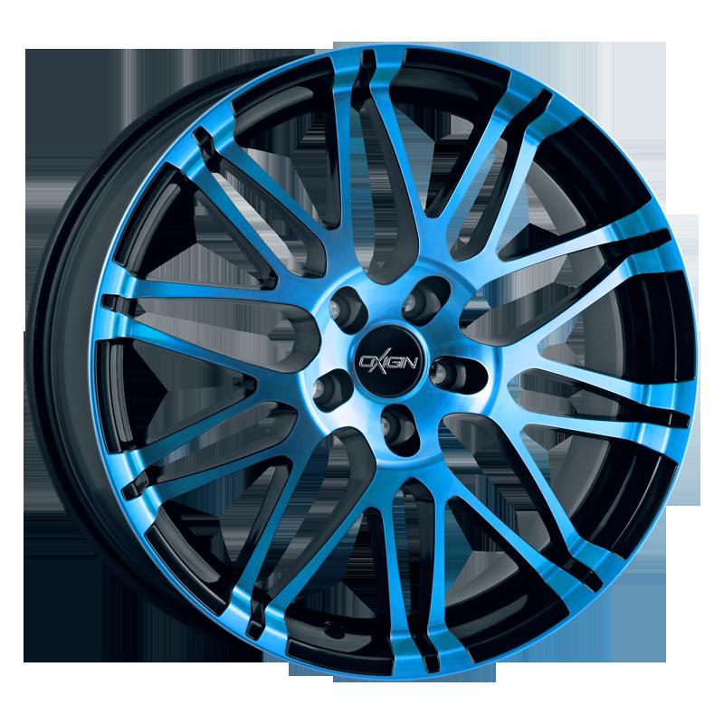 OXIGIN 14 Oxrock hliníkové disky 7,5x17 5x100 ET35 light blue polish