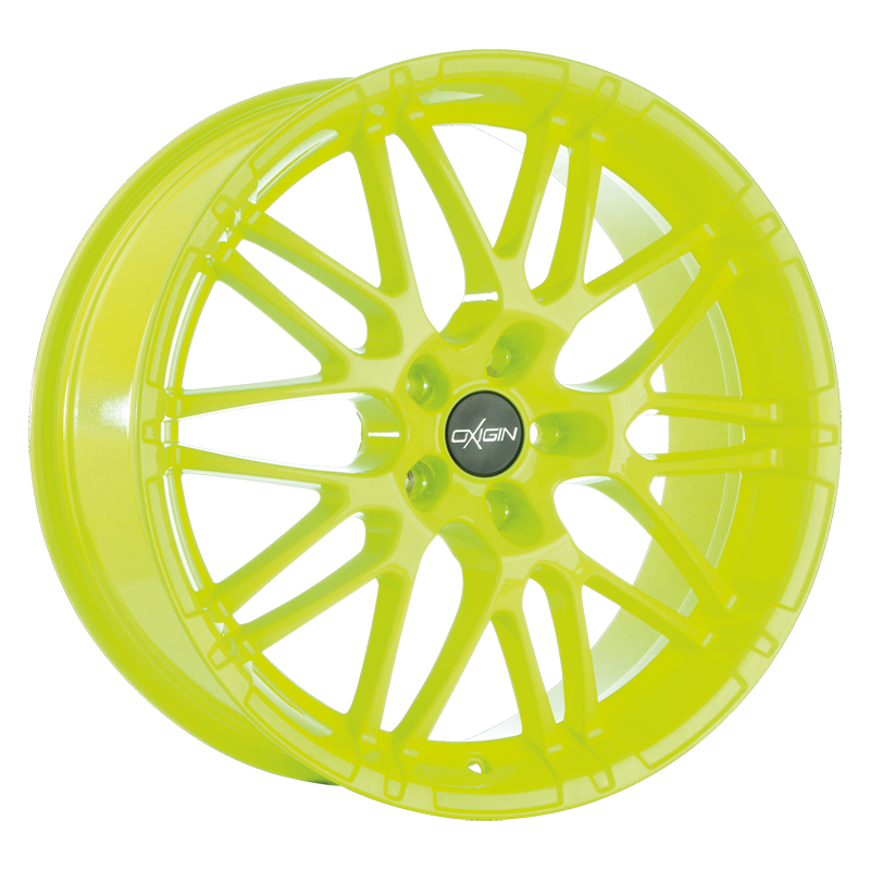 OXIGIN 14 Oxrock hliníkové disky 7,5x17 5x100 ET35 neon yellow
