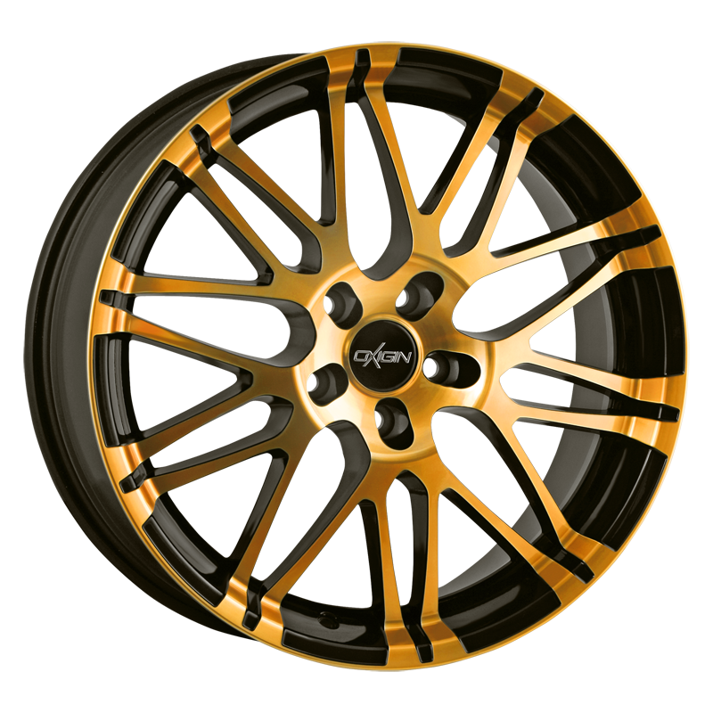OXIGIN 14 Oxrock hliníkové disky 8,5x18 5x112 ET35 orange polish