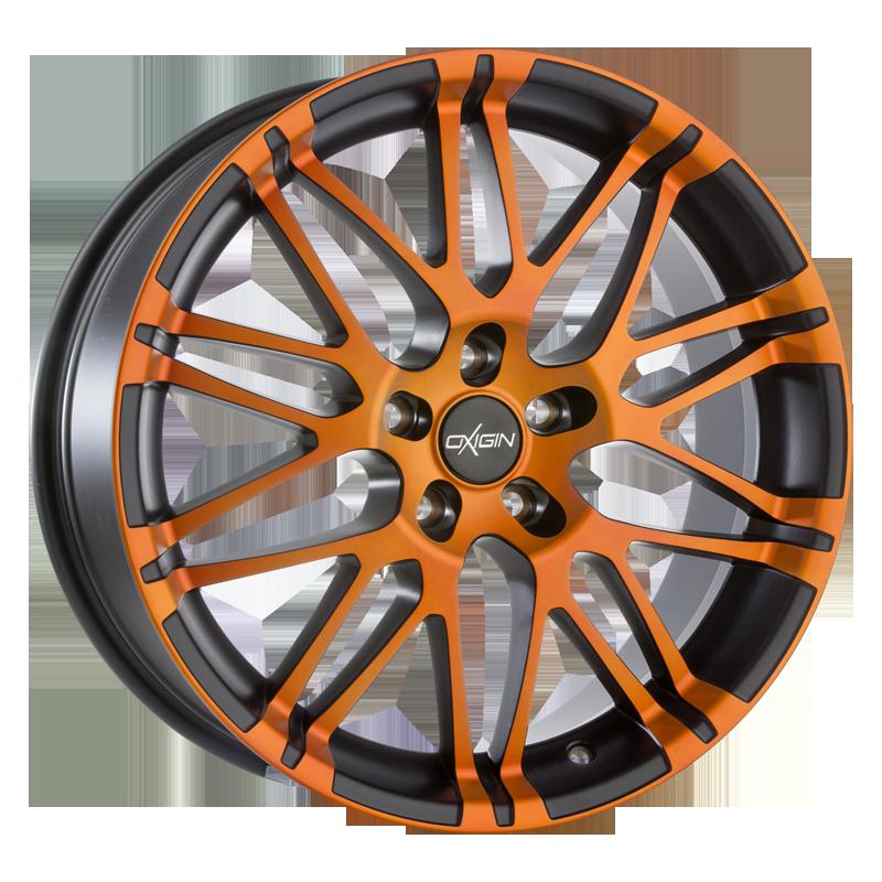 OXIGIN 14 Oxrock hliníkové disky 11x20 5x120 ET50 orange polish Matt