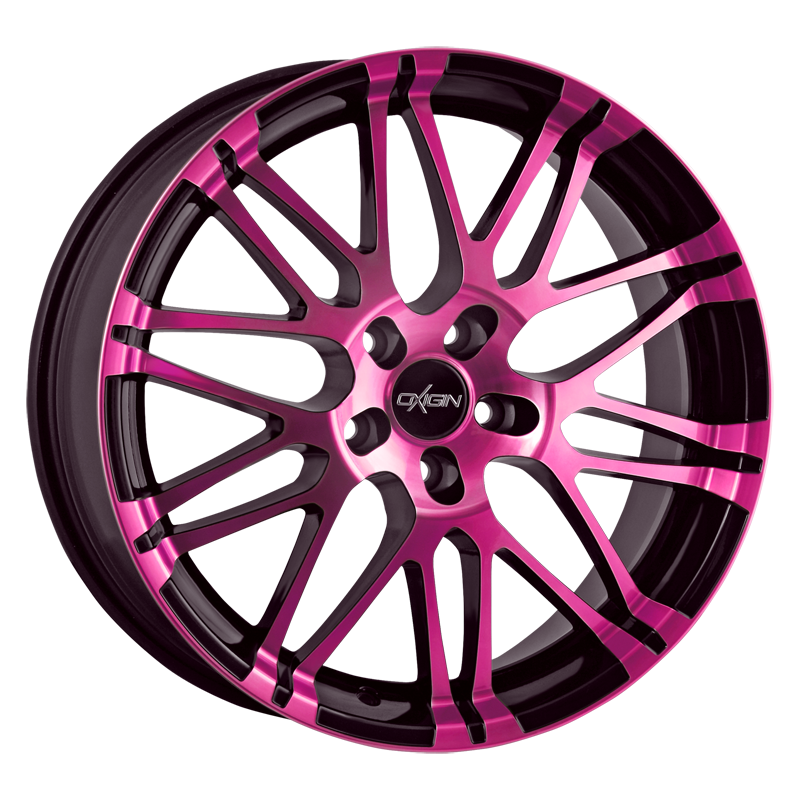 OXIGIN 14 Oxrock hliníkové disky 8,5x19 5x108 ET42 pink polish