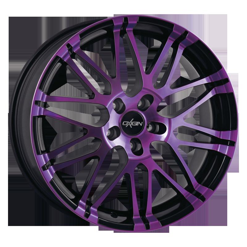 OXIGIN 14 Oxrock hliníkové disky 8,5x20 5x114,3 ET42 purple polish