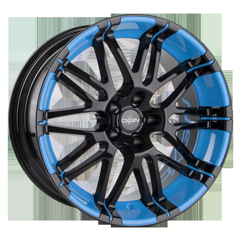 OXIGIN 14 Oxrock hliníkové disky 7,5x17 5x100 ET35 smurf blue VV-260