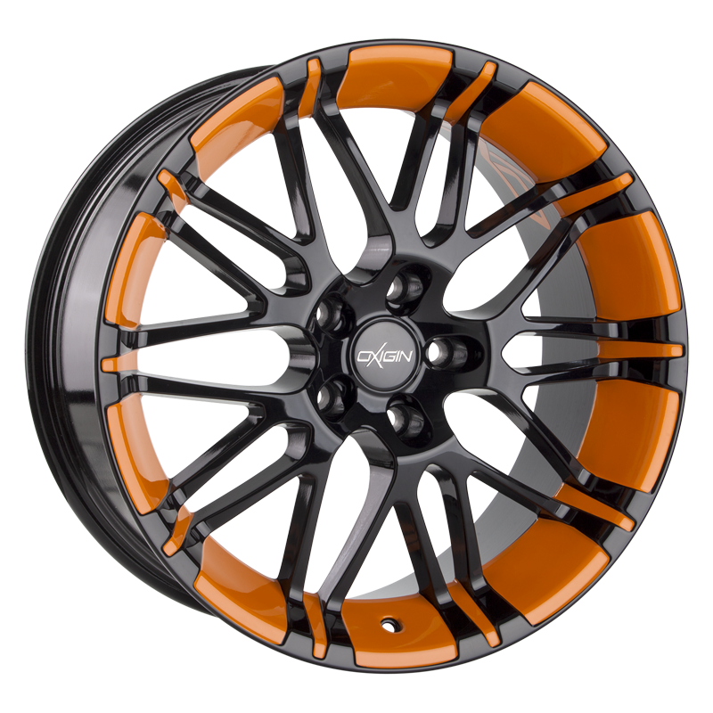 OXIGIN 14 Oxrock hliníkové disky 10x22 5x108 ET45 orange VV-211