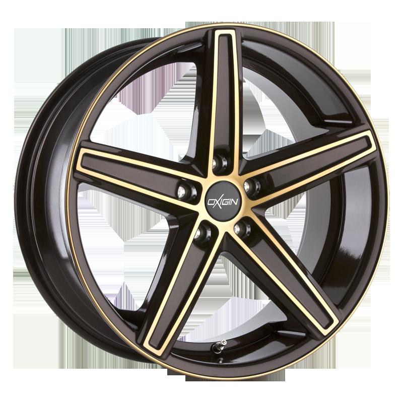 OXIGIN 18 Concave hliníkové disky 9x21 5x120 ET30 brown gold polish