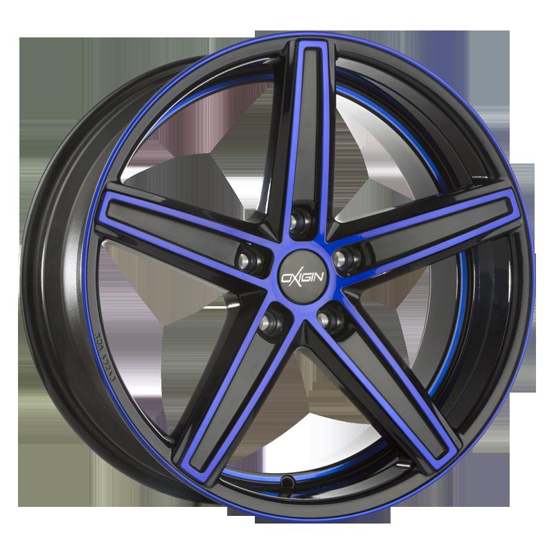 OXIGIN 18 Concave hliníkové disky 7,5x18 5x114,3 ET35 blue polish