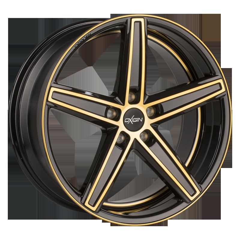 OXIGIN 18 Concave hliníkové disky 10x22 5x108 ET45 gold polish