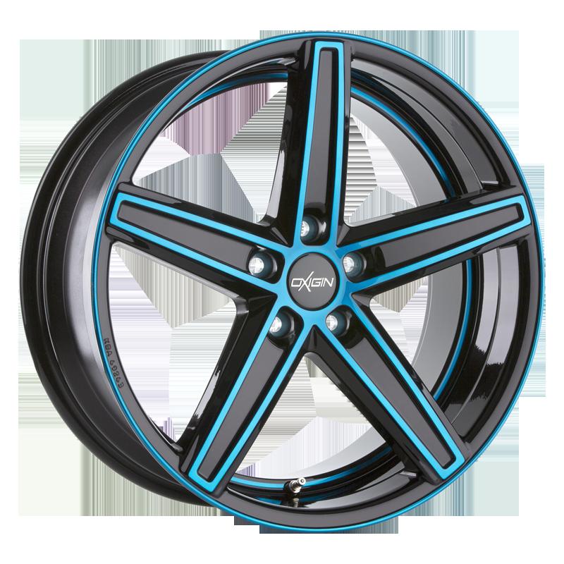OXIGIN 18 Concave hliníkové disky 10,5x21 5x112 ET30 light blue polish