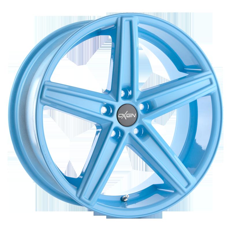 OXIGIN 18 Concave hliníkové disky 11,5x21 5x130 ET60 neon blue