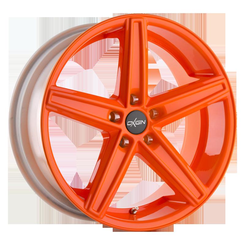 OXIGIN 18 Concave hliníkové disky 7,5x18 5x112 ET45 neon orange