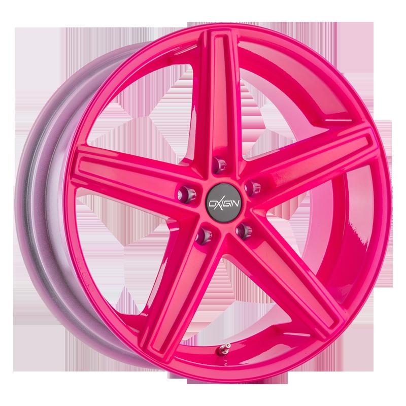OXIGIN 18 Concave hliníkové disky 8,5x19 5x120 ET35 neon pink
