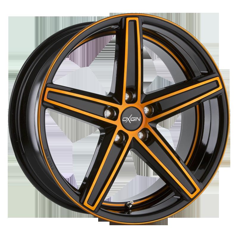 OXIGIN 18 Concave hliníkové disky 10x22 5x112 ET20 orange polish