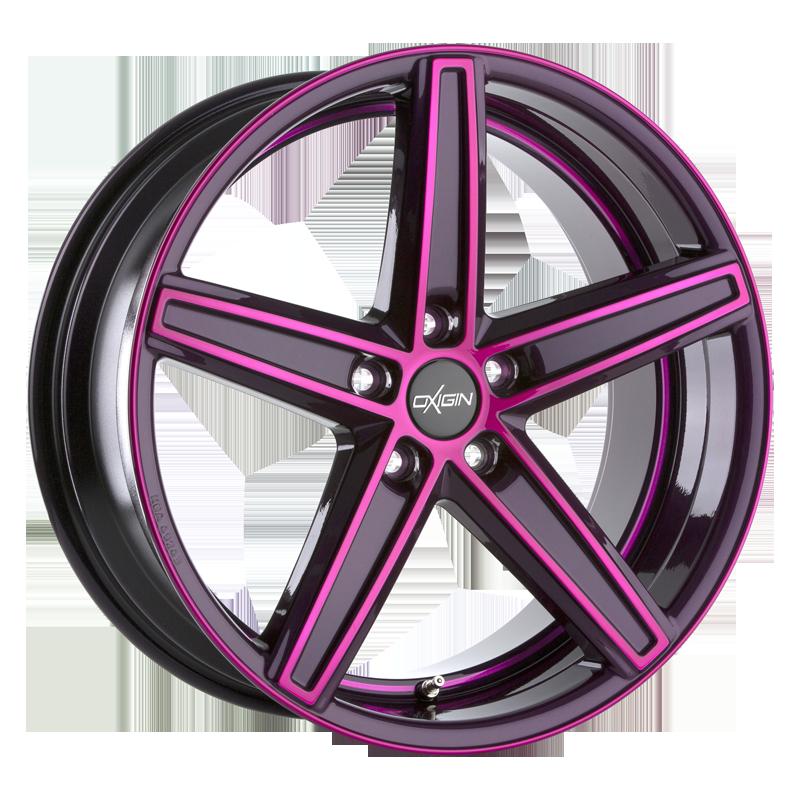 OXIGIN 18 Concave hliníkové disky 7,5x19 5x108 ET45 pink polish