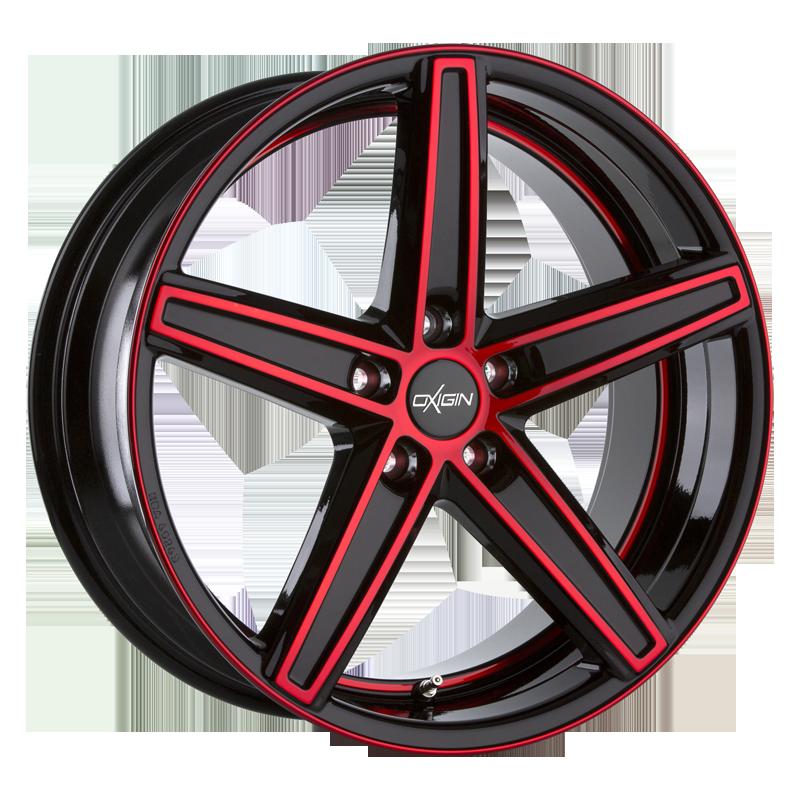 OXIGIN 18 Concave hliníkové disky 10,5x20 5x120 ET25 red polish