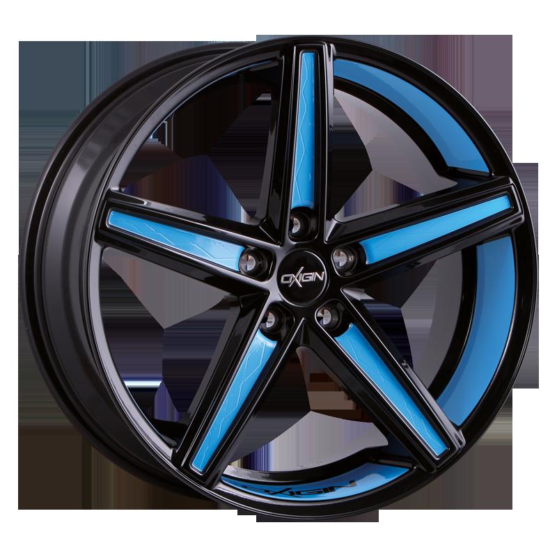 OXIGIN 18 Concave hliníkové disky 11,5x22 5x130 ET60 smurf blue VV-260