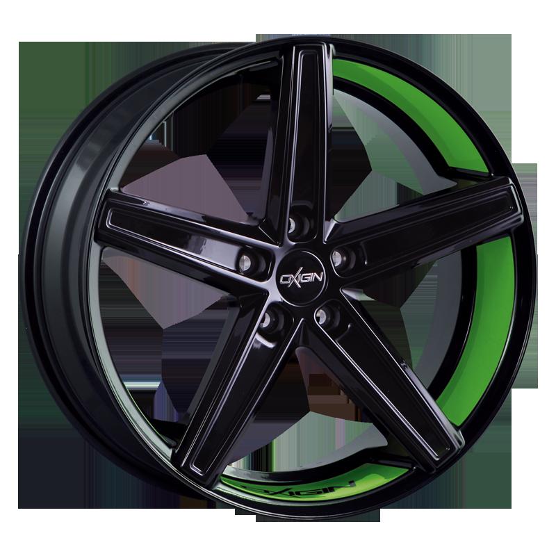 OXIGIN 18 Concave hliníkové disky 9x21 5x114,3 ET34 spring green VV-221