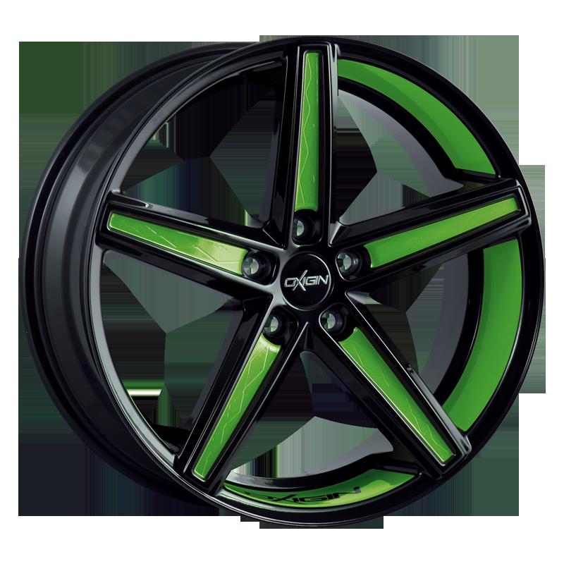 OXIGIN 18 Concave hliníkové disky 10,5x21 5x112 ET52 spring green VV-221