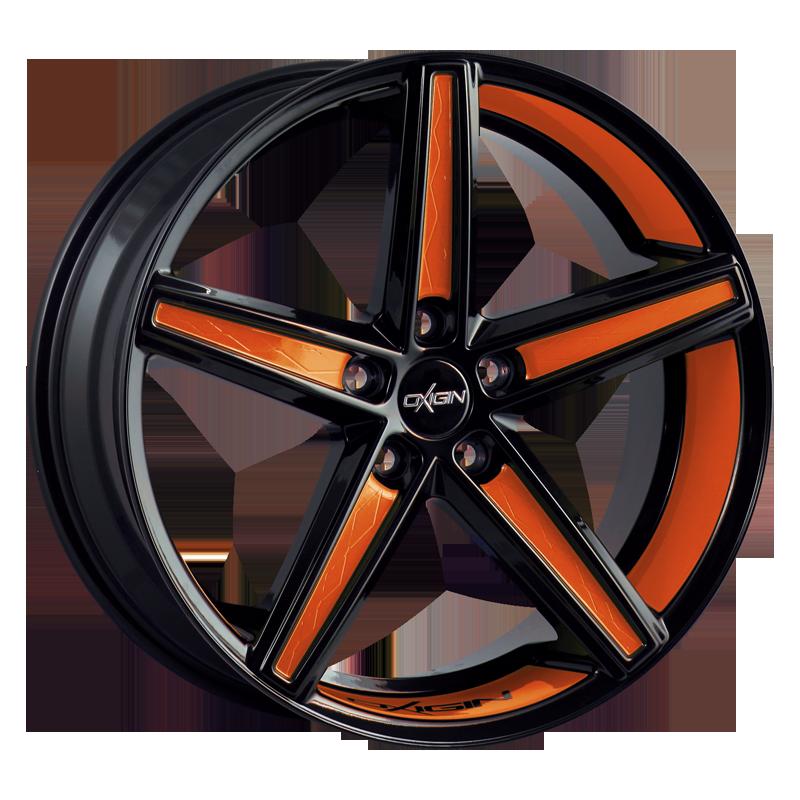 OXIGIN 18 Concave hliníkové disky 10,5x21 5x114,3 ET52 orange VV-211