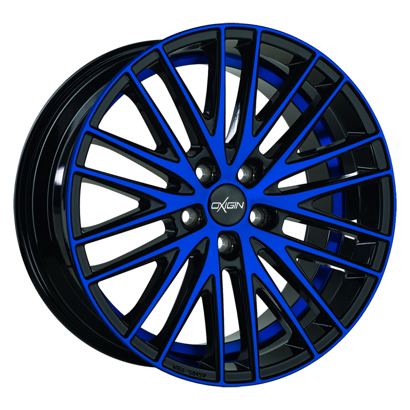 OXIGIN 19 Oxspoke hliníkové disky 8,5x18 5x120 ET35 blue polish