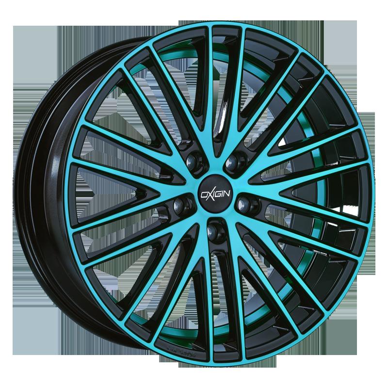OXIGIN 19 Oxspoke hliníkové disky 7,5x17 5x100 ET35 light blue polish