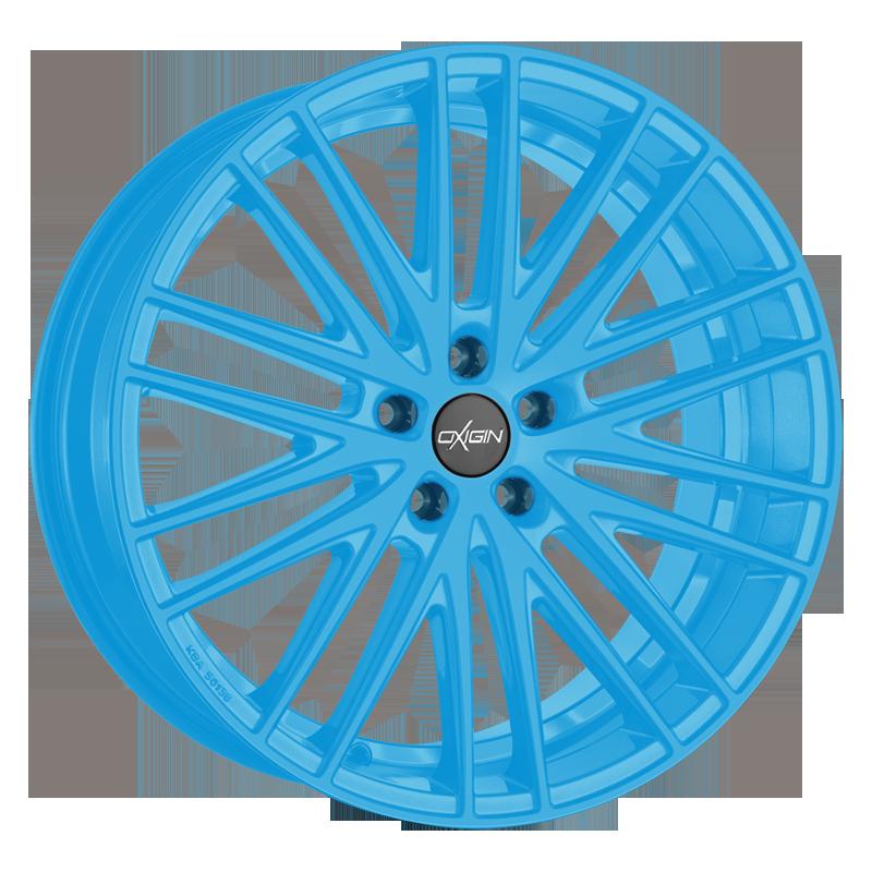 OXIGIN 19 Oxspoke hliníkové disky 8,5x18 5x112 ET35 neon blue