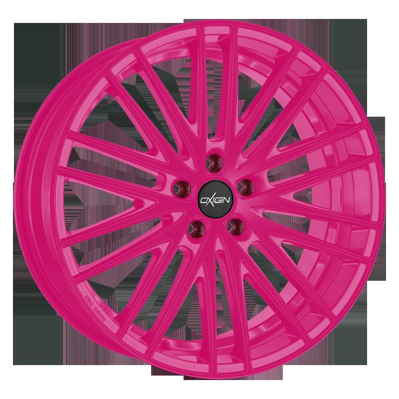 OXIGIN 19 Oxspoke hliníkové disky 8,5x18 5x108 ET45 neon pink