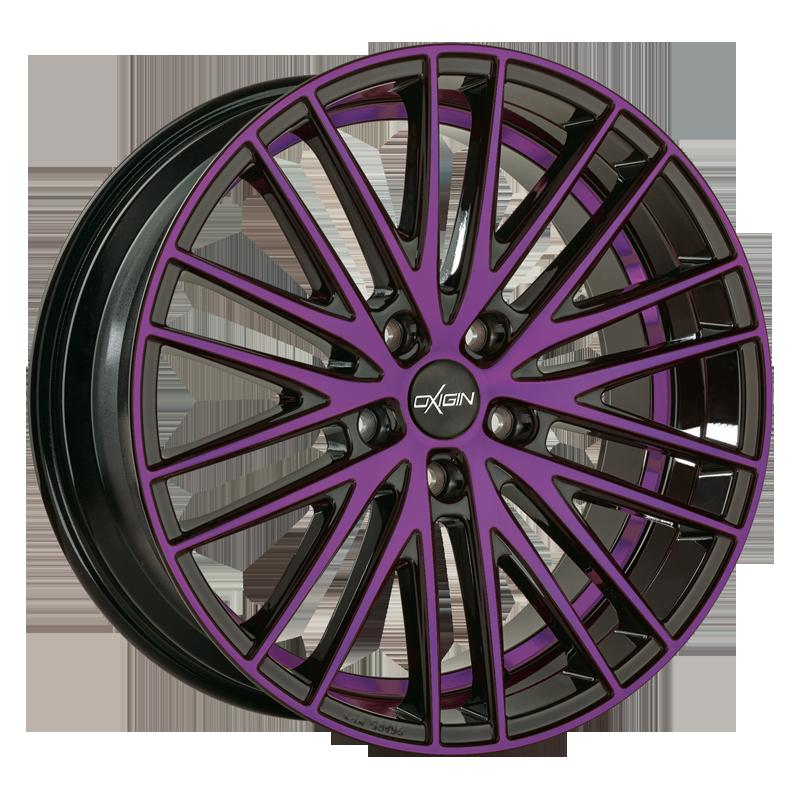 OXIGIN 19 Oxspoke hliníkové disky 10,5x20 5x130 ET43 purple polish
