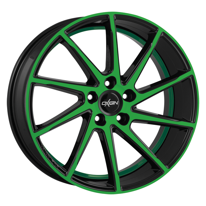 OXIGIN 20 Attraction hliníkové disky 9x20 5x114,3 ET38 neon green polish