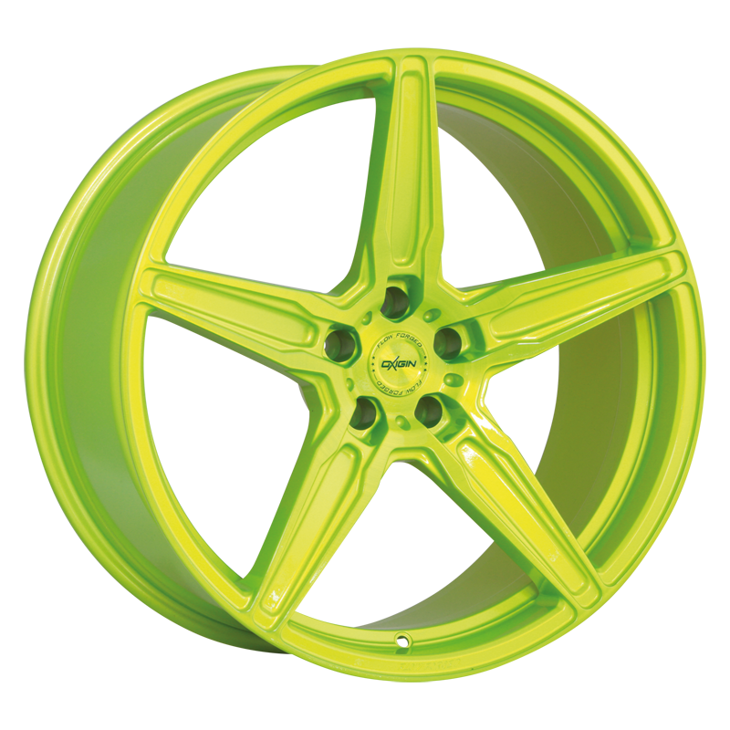 OXIGIN 21 Oxflow hliníkové disky 10,5x20 5x120 ET45 liquid green