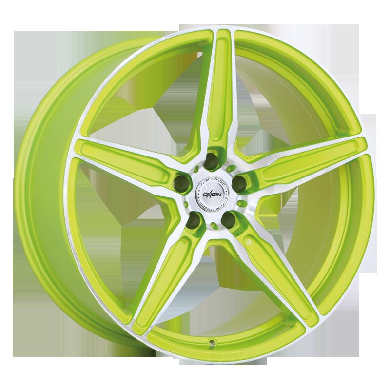 OXIGIN 21 Oxflow hliníkové disky 9x21 5x112 ET20 liquid green Polish