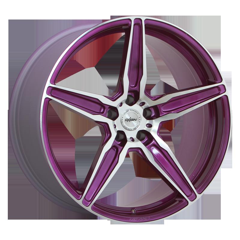 OXIGIN 21 Oxflow hliníkové disky 10,5x21 5x112 ET52 liquid purple Polish