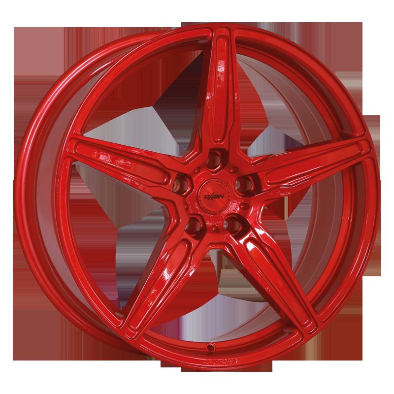 OXIGIN 21 Oxflow hliníkové disky 8,5x19 5x112 ET45 liquid red