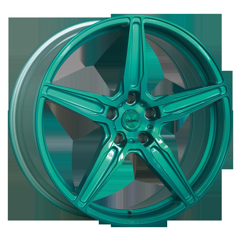OXIGIN 21 Oxflow hliníkové disky 9x21 5x112 ET20 liquid turquoise