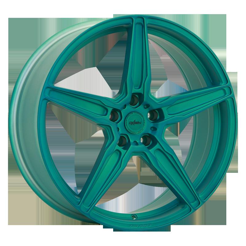 OXIGIN 21 Oxflow hliníkové disky 10,5x20 5x114,3 ET50 liquid turquoise Matt