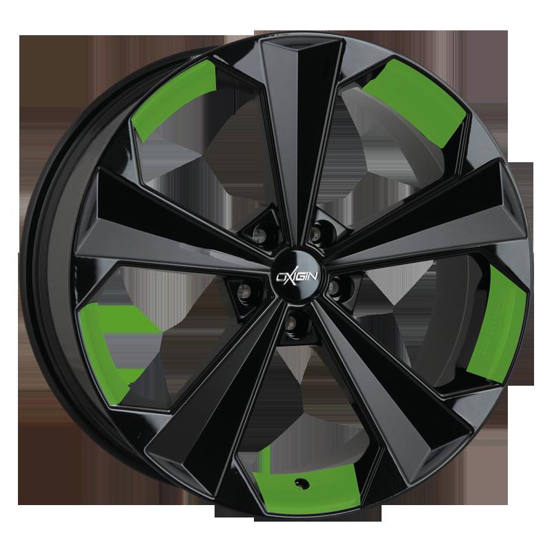 OXIGIN 22 OXRS hliníkové disky 9x20 5x120 ET29 spring green VV-221