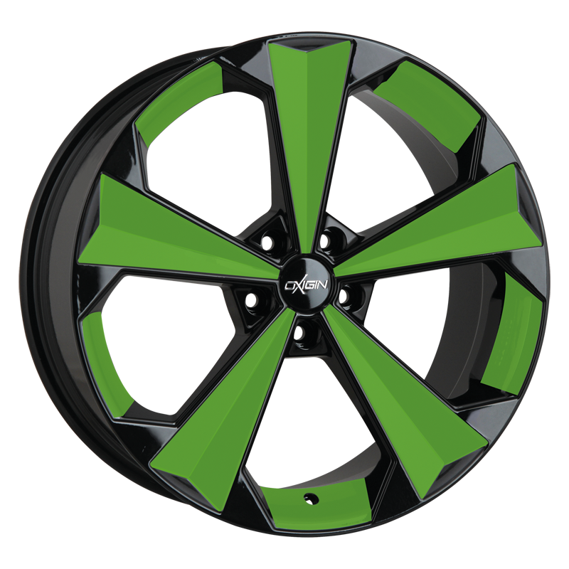 OXIGIN 22 OXRS hliníkové disky 9x20 5x112 ET45 spring green VV-221