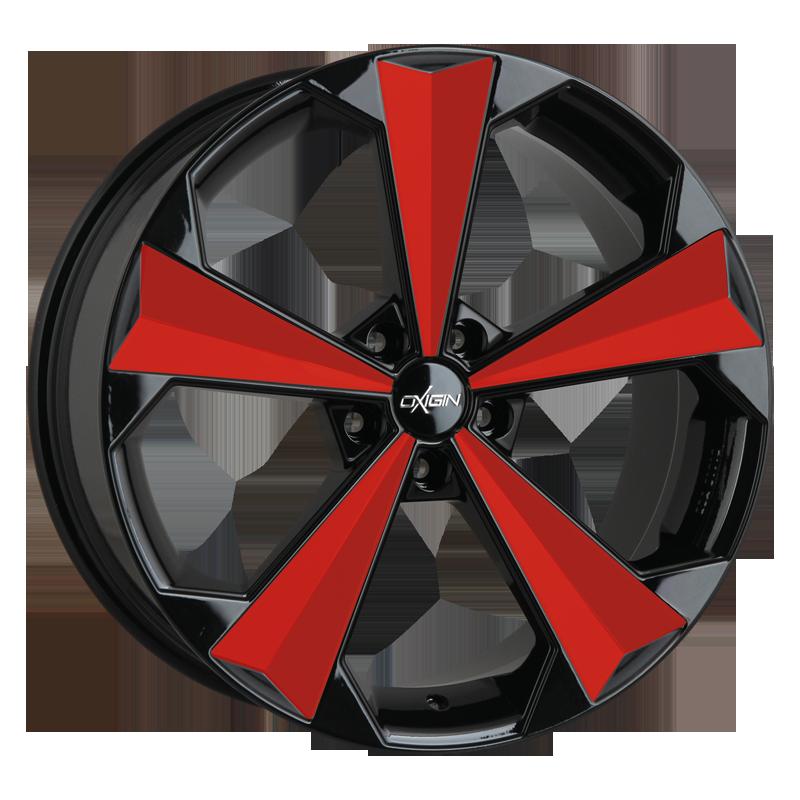 OXIGIN 22 OXRS hliníkové disky 9x20 5x112 ET45 tomato red VV-204