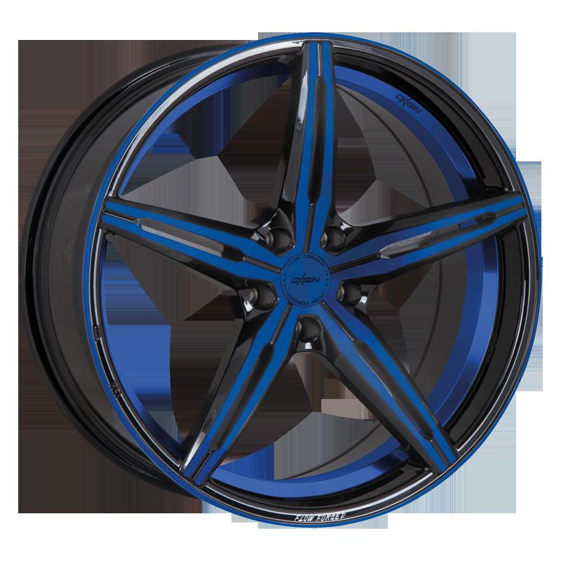 OXIGIN 23 Diamond hliníkové disky 8,5x19 5x108 ET45 blue polish