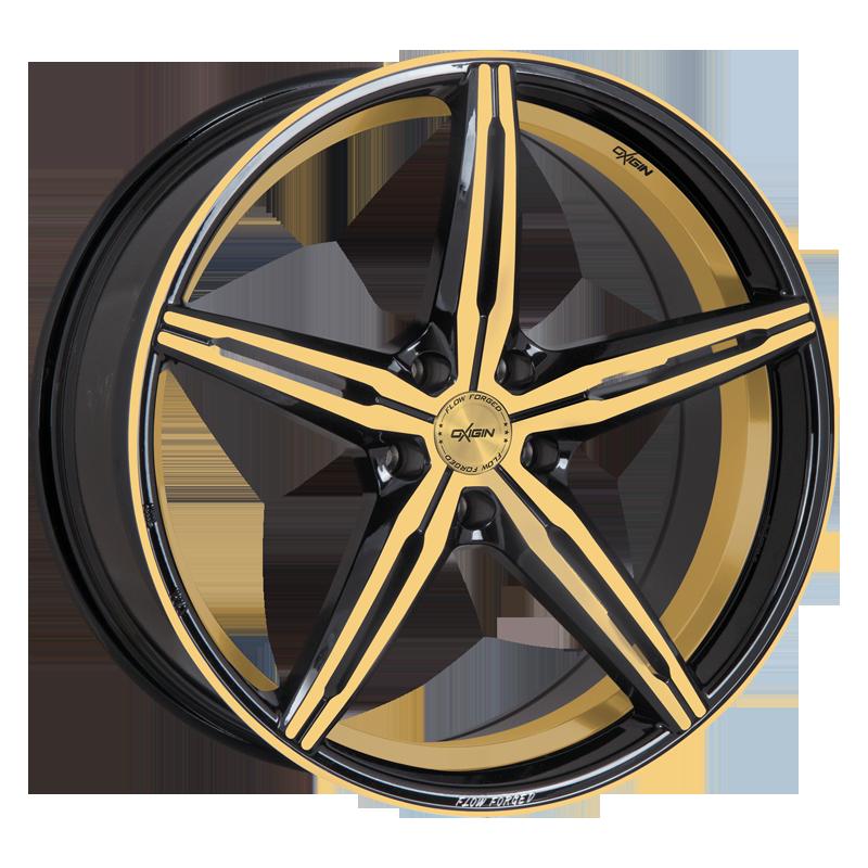 OXIGIN 23 Diamond hliníkové disky 8,5x19 5x108 ET45 gold polish