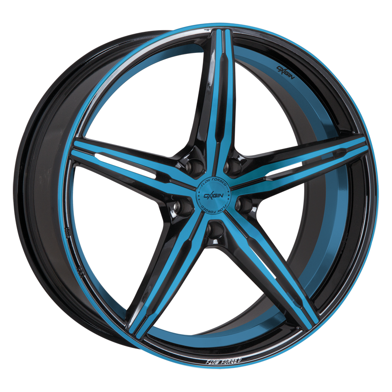OXIGIN 23 Diamond hliníkové disky 8,5x19 5x108 ET45 light blue polish
