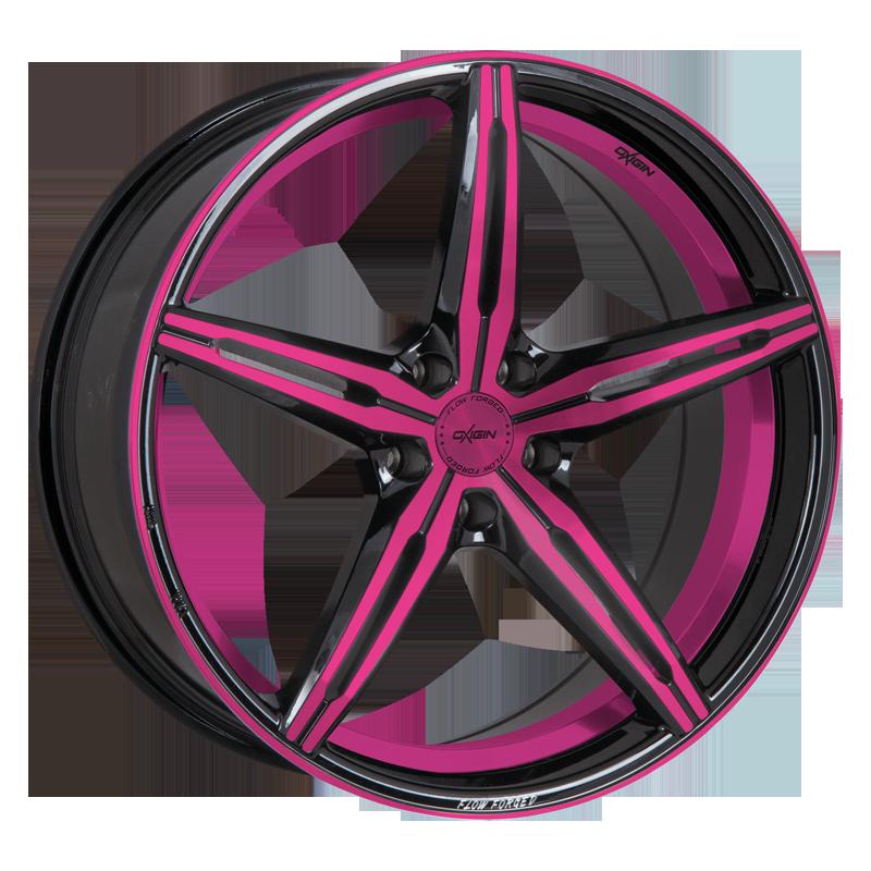 OXIGIN 23 Diamond hliníkové disky 9x20 5x108 ET45 pink polish