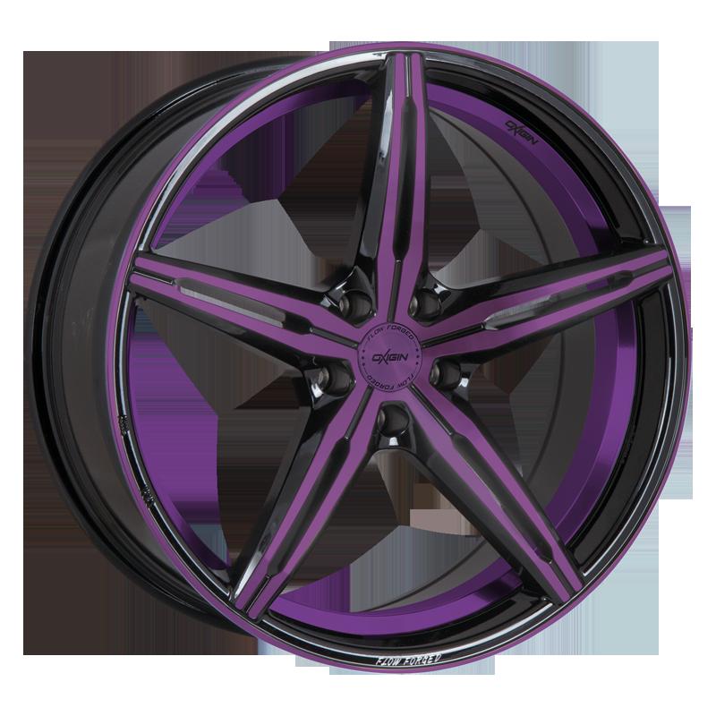 OXIGIN 23 Diamond hliníkové disky 8,5x19 5x115 ET40 purple polish