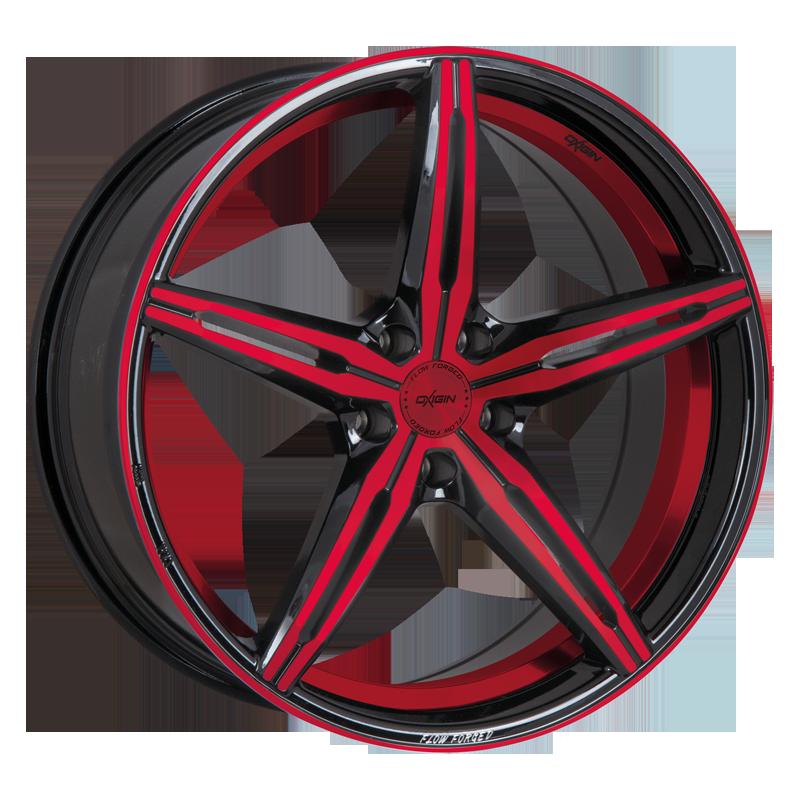 OXIGIN 23 Diamond hliníkové disky 9x20 5x120 ET29 red polish