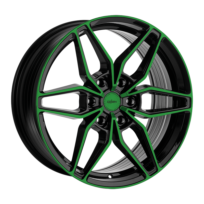 OXIGIN 24 Oxroad hliníkové disky 9x20 6x114,3 ET25 neon green polish